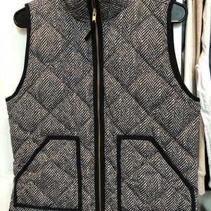 J. Crew Herringbone Vest